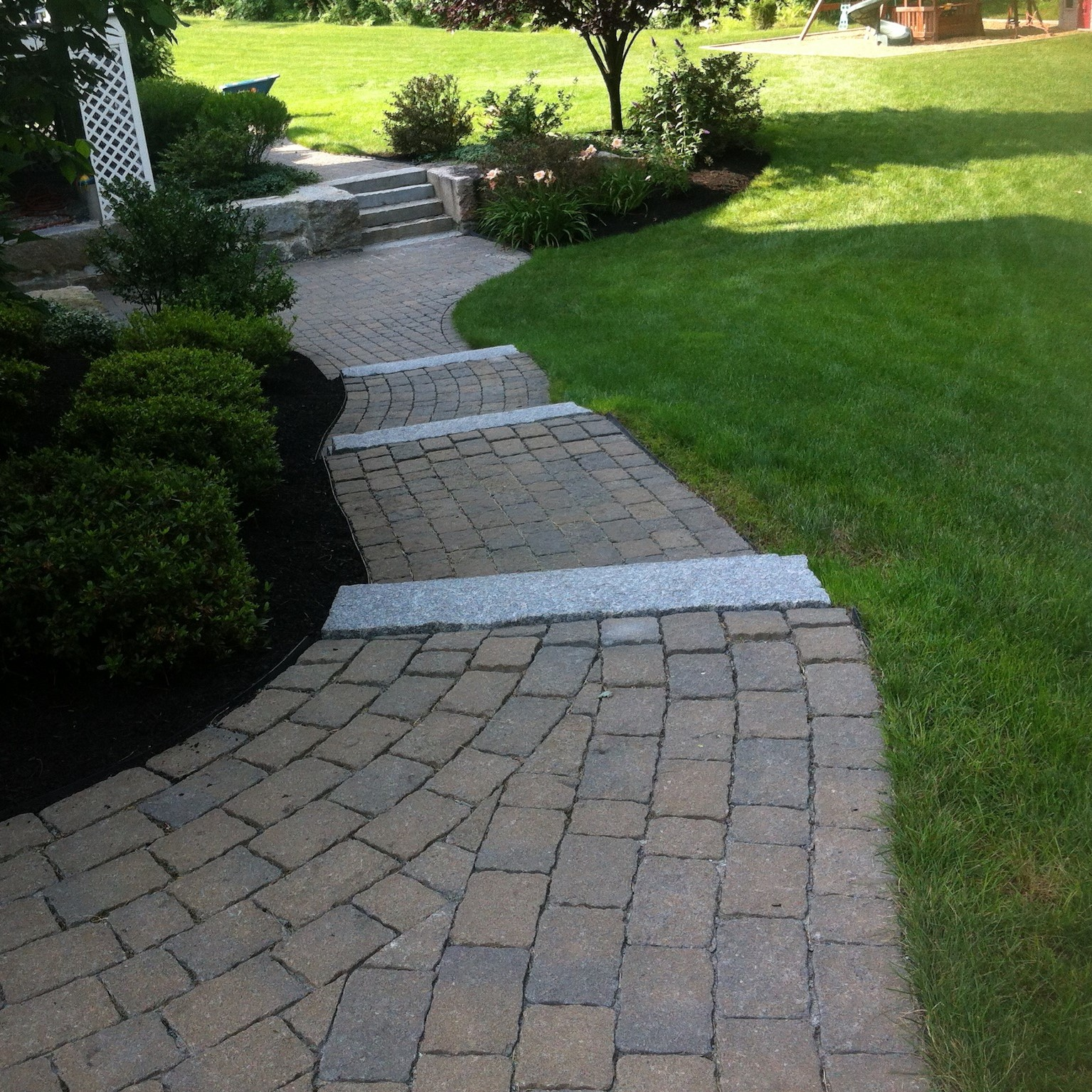 Brick Walkway Masonry Services in New Hampshire