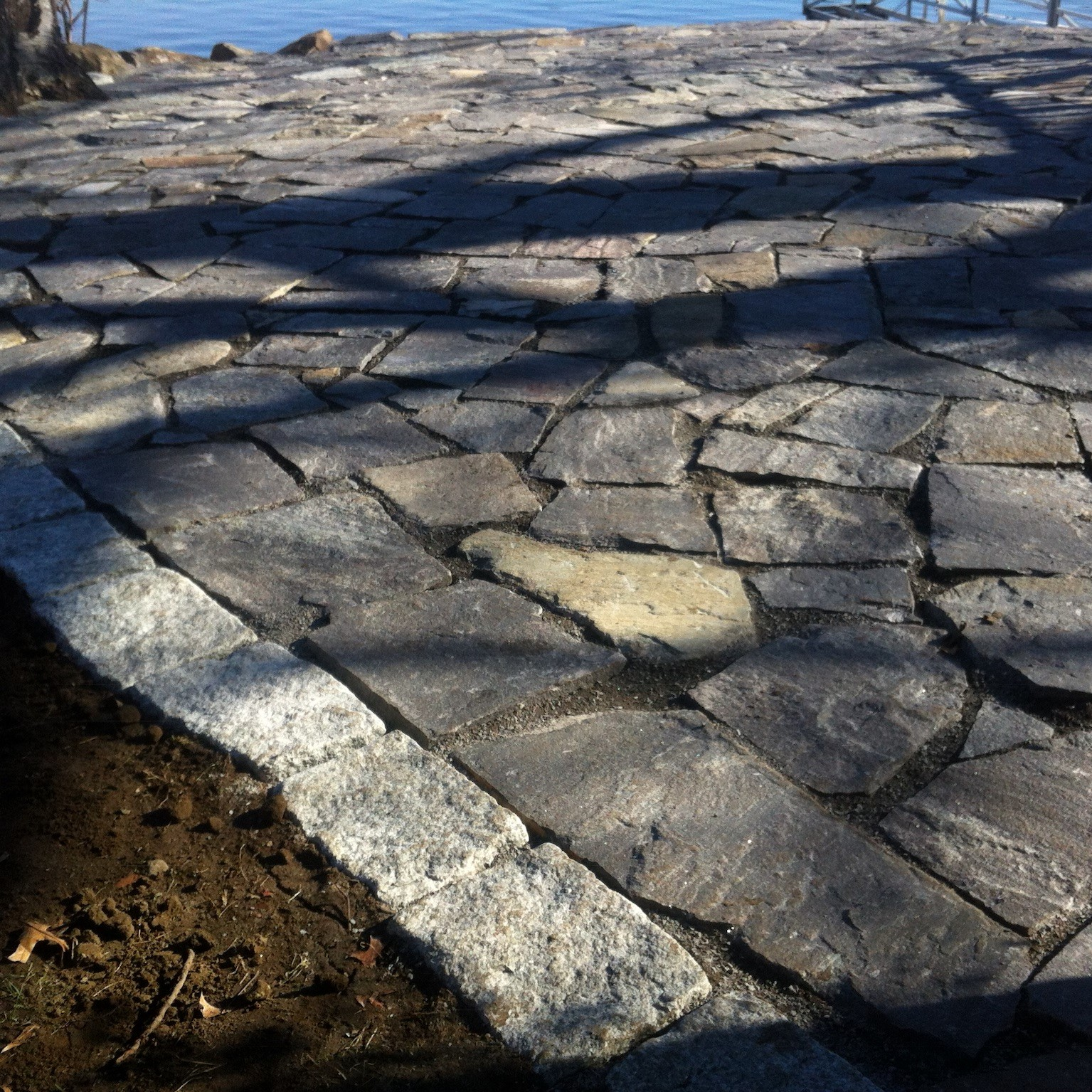 Stone Patio Masonry Services in New Hampshire