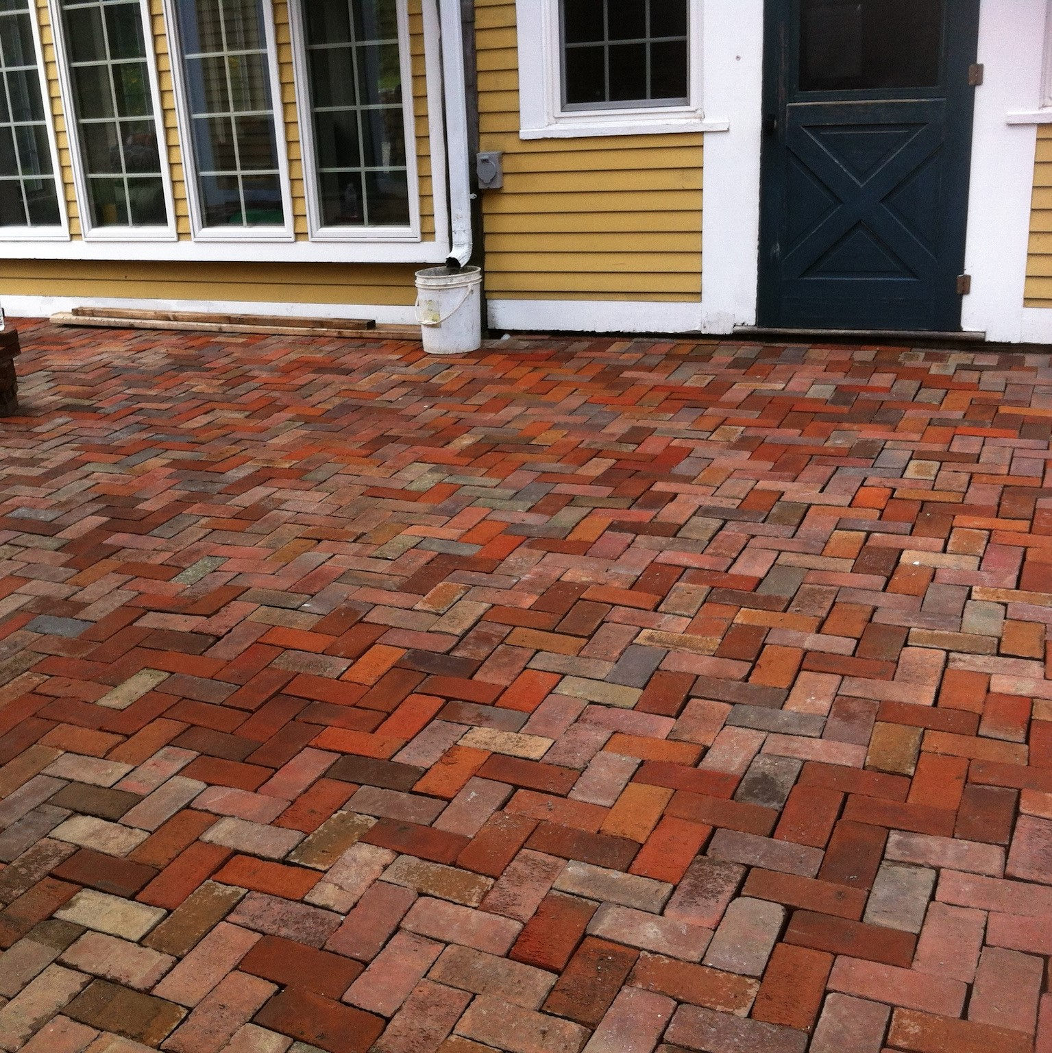 Brick Patio Mason Service in New Hampshire