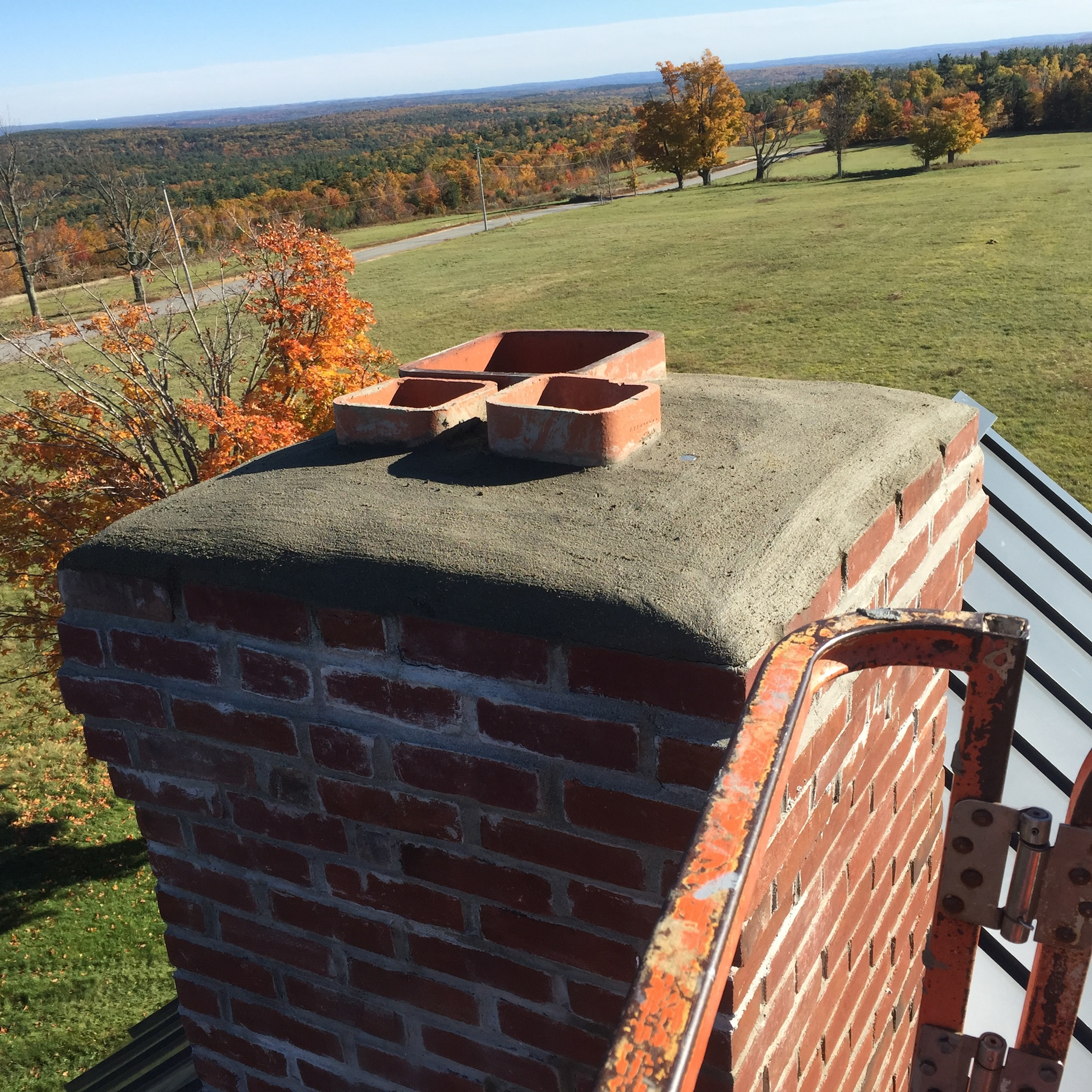 Chimney Cap Repair Service in Greenville New Hampshire