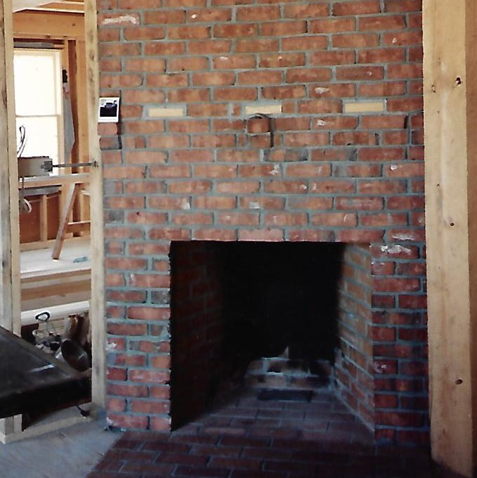 Tumbled Brick Fireplace Service in Massachusetts