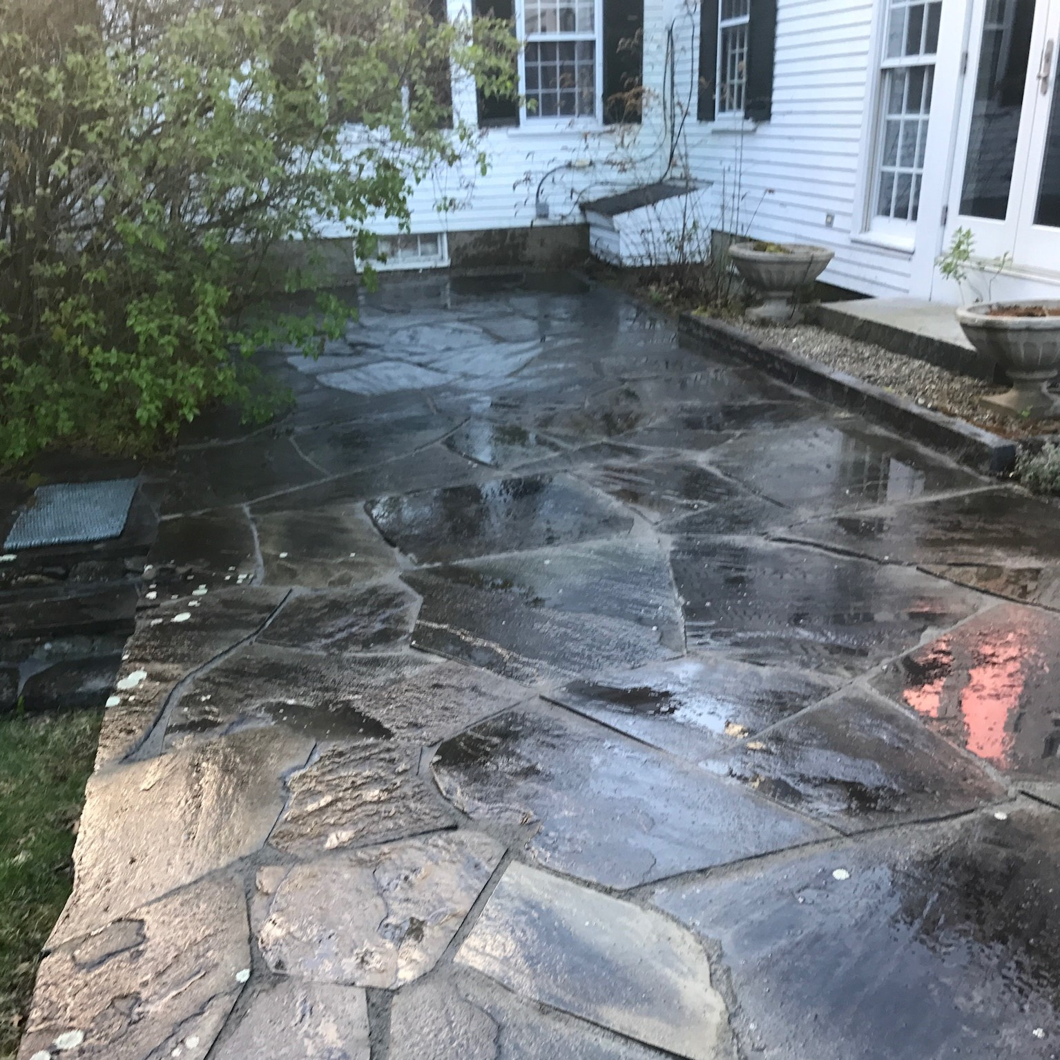 Bluestone Patio washdown service in Peterborough NH