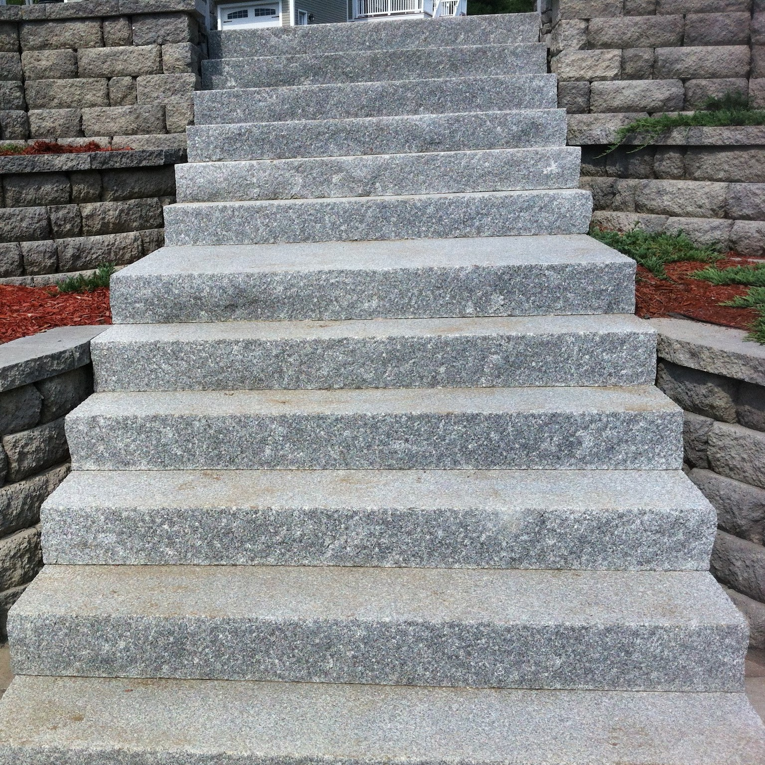 Stone Stairs Masonry Service in New Hampshire