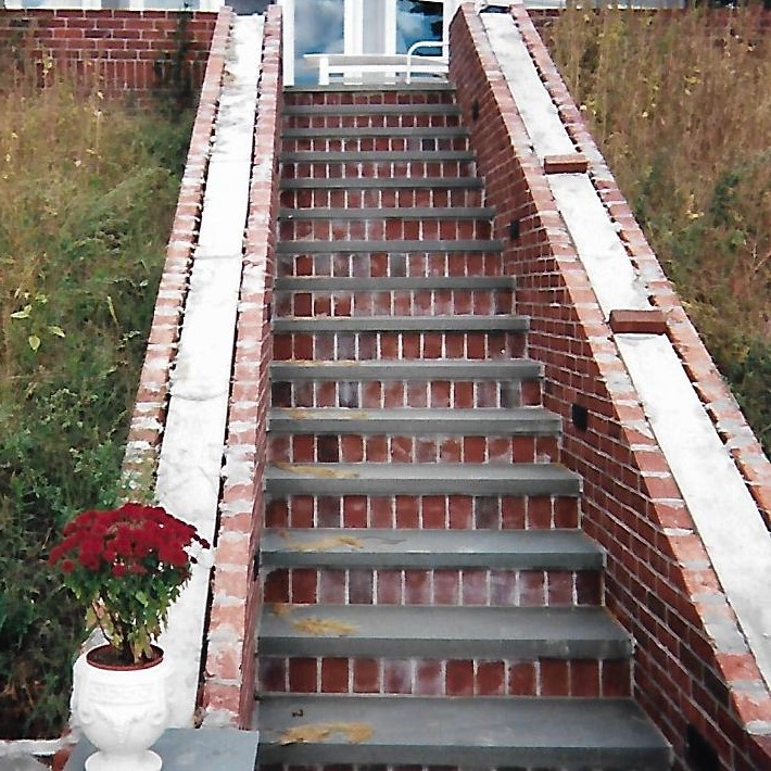 Brick Garden Steps Service in New Hampshire