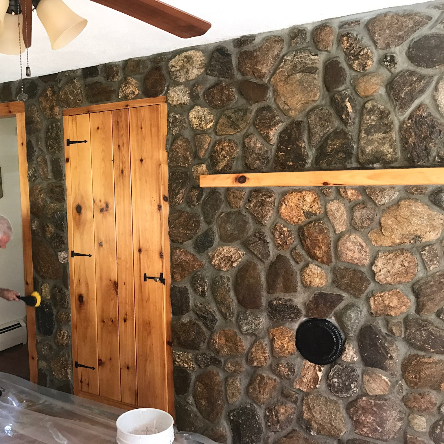 Indoor Stone Veneer in Peterborough New Hampshire