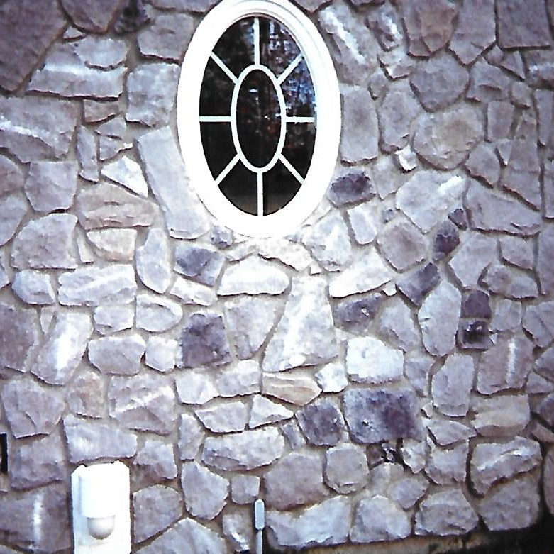 Exterior Stone Veneer with Window in Massachusetts