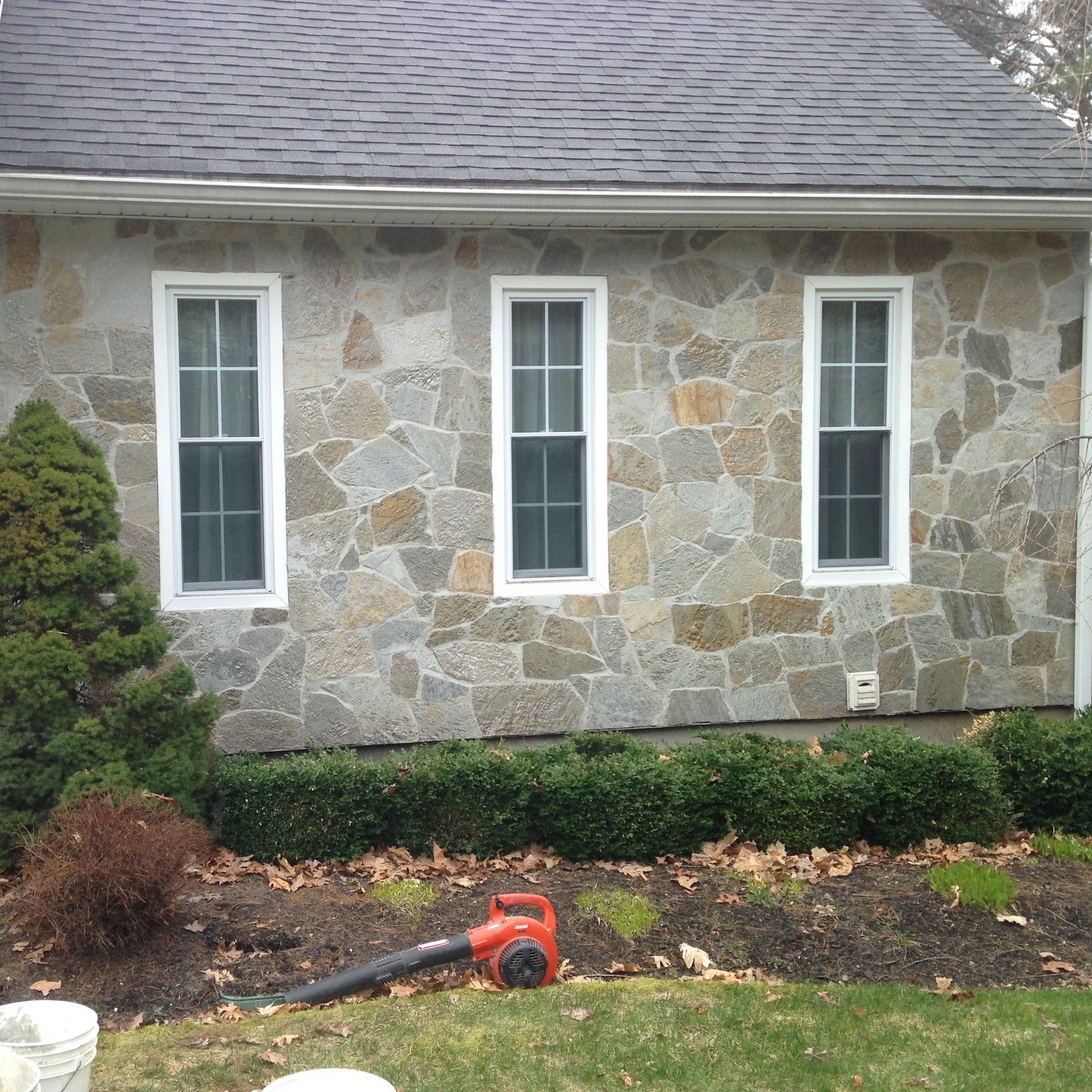 Stone Siding Veneer in Windham New Hampshire