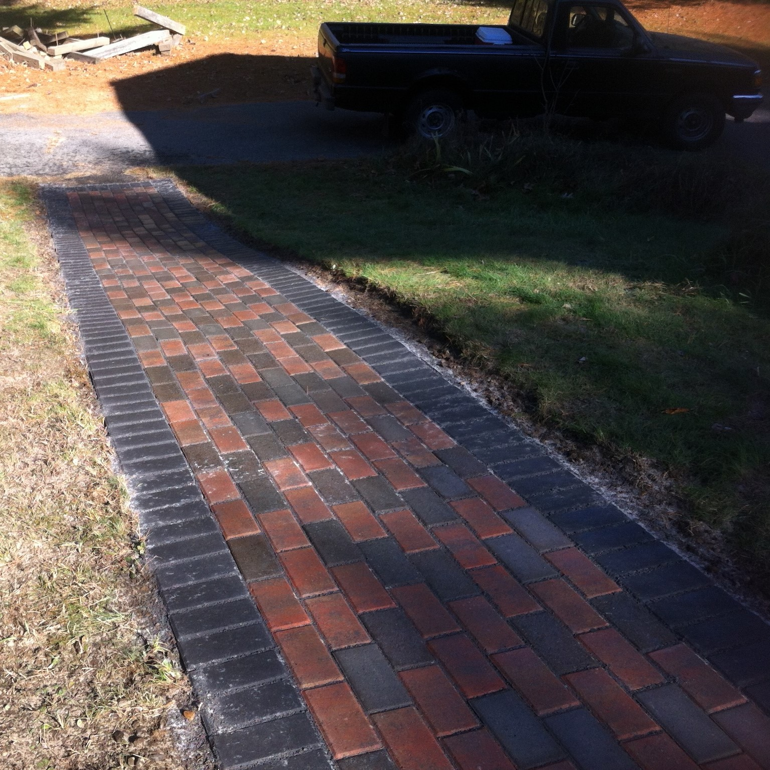 Brick Walkway Mason Service in Massachusetts