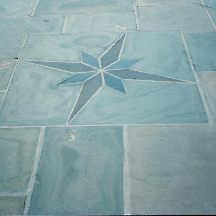 Inlaid Patio Stone Masonry Services in New Hampshire